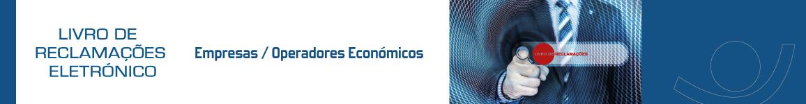 Livro de Reclamações - Empresas Operadores Económicos