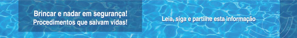 Brincar e nadar em Segurança
