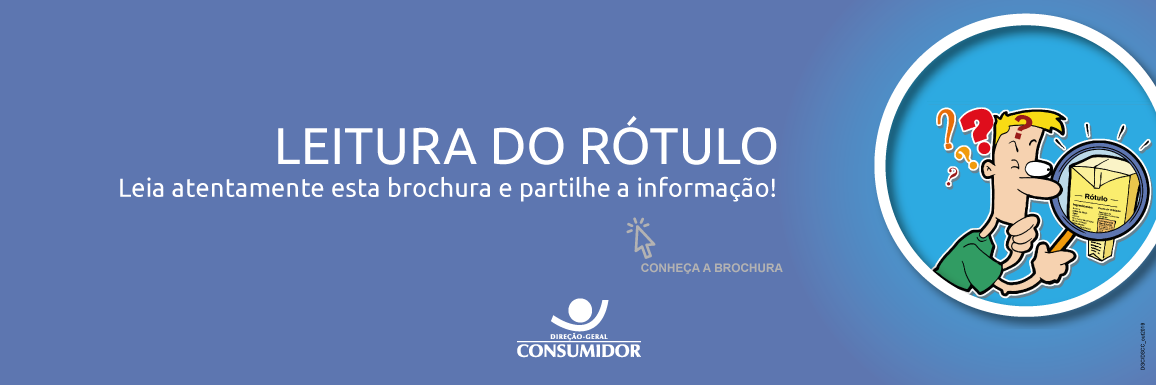 Brochura - Leitura do Rótulo