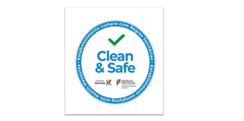 Selo Clean & Safe