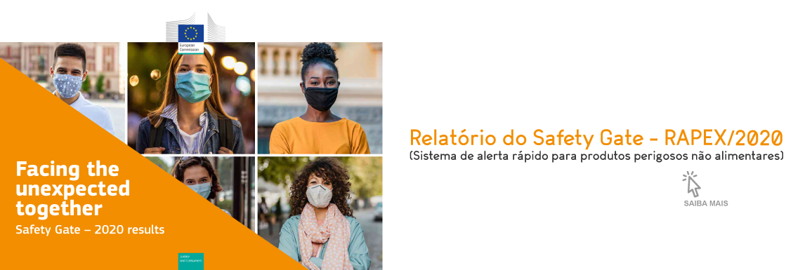 Relatório Anual de 2020 do Safety Gate – RAPEX