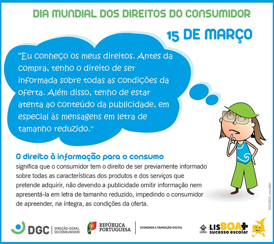 Os Direitos dos Consumidores explicados às crianças