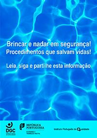 Brochura - Brincar e nadar em segurança